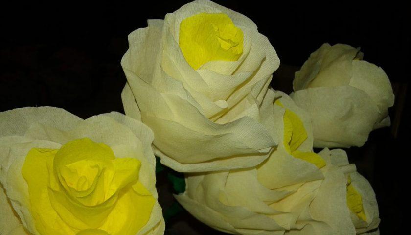 виртуальный мастер класс Белый цветок